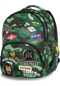 Patio Plecak szkolny Coolpack Cp zielony. Kolor: zielony