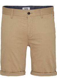 Brązowe szorty Tommy Jeans