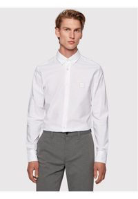 BOSS - Boss Koszula Mabsoot_1 50432726 Biały Slim Fit. Kolor: biały