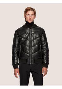 Czarna kurtka przejściowa BOSS
