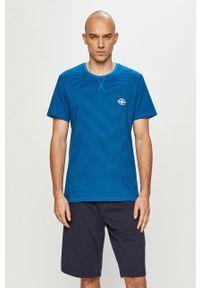 Henderson - Piżama. Kolor: niebieski