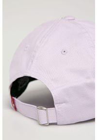 Fioletowa czapka z daszkiem Levi's® z aplikacjami, biznesowa