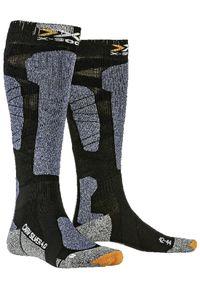 X-Socks Skarpety narciarskie Carve Silver. Sport: narciarstwo