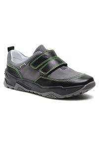 Bartek - Sneakersy BARTEK - 8172-13WS Szary. Okazja: na spacer, na co dzień. Zapięcie: rzepy. Kolor: szary. Materiał: skóra, zamsz. Styl: casual