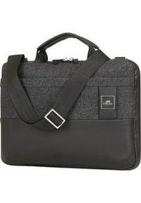 Czarna torba na laptopa Riva Case