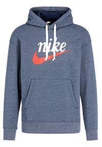Nike Bluza Heritage BV2933 Niebieski Regular Fit. Kolor: niebieski