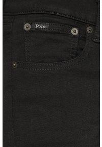 Czarne jeansy Polo Ralph Lauren gładkie #4