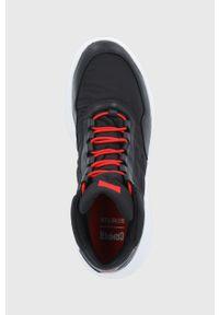 Camper - Buty Crclr. Nosek buta: okrągły. Zapięcie: sznurówki. Kolor: czarny. Materiał: guma. Szerokość cholewki: normalna. Technologia: Gore-Tex