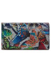 Niebieski portfel Stefania