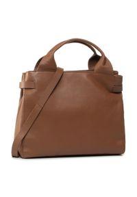 Brązowa torebka klasyczna Clarks klasyczna
