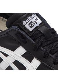 Czarne buty sportowe Onitsuka Tiger na co dzień, z cholewką