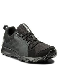 Czarne buty do biegania Adidas Adidas Terrex, z cholewką, Gore-Tex