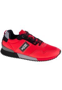 Czerwone sneakersy Big-Star z cholewką