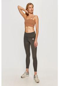 Szare legginsy Adidas moda ciążowa