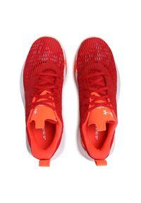 Czerwone buty do koszykówki Under Armour