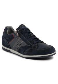 Geox Sneakersy U Renan A U024GA 022PT C4002 Granatowy. Kolor: niebieski