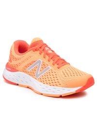New Balance - Buty NEW BALANCE - W680RO6 Pomarańczowy. Kolor: pomarańczowy. Materiał: materiał. Szerokość cholewki: normalna
