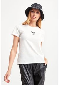 T-shirt Pinko na co dzień, casualowy