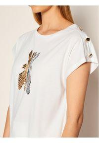 Biały t-shirt Patrizia Pepe