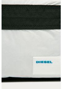 Czarny plecak Diesel w paski