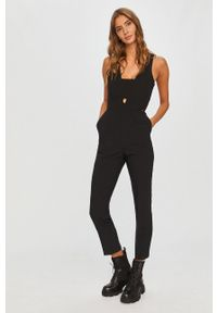 Czarny kombinezon Pepe Jeans na co dzień, długi