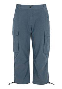 Cellbes Spodnie sportowe niebieskoszary female szary/niebieski 58/60. Kolor: niebieski, szary, wielokolorowy. Materiał: tkanina, guma. Styl: sportowy