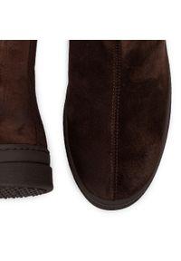 Brązowe buty zimowe GANT na co dzień, casualowe