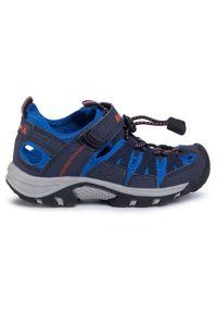 Niebieskie sandały Kamik na lato, klasyczne