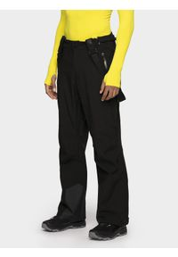 Czarne spodnie narciarskie 4f na zimę