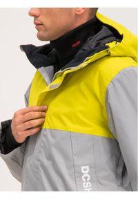 DC Kurtka snowboardowa Defy EDYTJ03092 Szary Regular Fit. Kolor: szary. Sport: snowboard