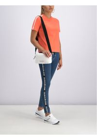 Pomarańczowy t-shirt Calvin Klein Jeans