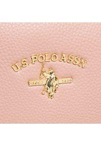 U.S. Polo Assn - Torebka U.S. POLO ASSN. - Stanford S Doub BEUSS5179WVP422 Rose. Kolor: różowy. Materiał: skórzane #5
