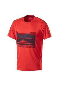 Koszulka McKinley Raffa M 286183. Materiał: poliester, skóra, materiał