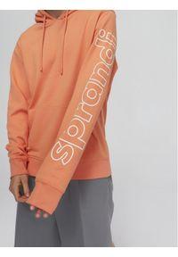 Sprandi Bluza SS21-BLM014 Pomarańczowy Regular Fit. Kolor: pomarańczowy
