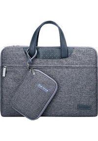 Szara torba na laptopa Cartinoe