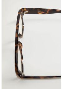 Brązowe okulary przeciwsłoneczne mango