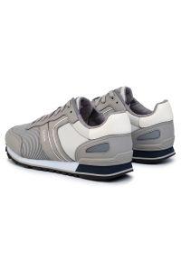 Szare sneakersy BOSS