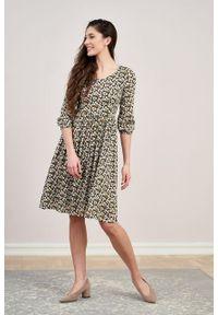 Marie Zélie - Sukienka Hypatia Nutans. Materiał: materiał, tkanina, bawełna, wiskoza