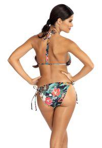 Wielokolorowy strój kąpielowy dwuczęściowy Lorin