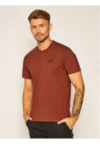 Brązowy t-shirt Edwin