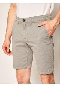 Pepe Jeans Szorty materiałowe Charly Minimal PM800773 Szary Slim Fit. Kolor: szary. Materiał: materiał
