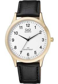 Czarny zegarek Q&Q klasyczny