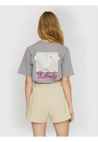 ROTATE T-Shirt Asvera RT461 Szary Loose Fit. Kolor: szary
