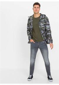 Dżinsy dresowe Skinny Fit Straight bonprix szary denim. Kolor: szary #2