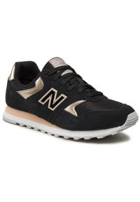 New Balance Sneakersy WL393MTL Czarny. Kolor: czarny