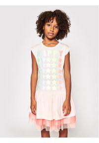 Sukienka Billieblush casualowa, prosta, na co dzień, w kolorowe wzory
