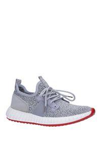 Casu - szare buty sportowe sznurowane casu 169. Kolor: szary