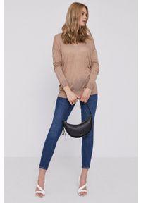 Kate Spade - Torebka skórzana. Kolor: czarny. Materiał: skórzane. Rodzaj torebki: na ramię #5
