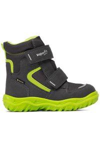 Szare buty zimowe Superfit
