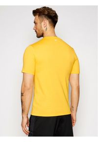 Żółty t-shirt Calvin Klein Performance
